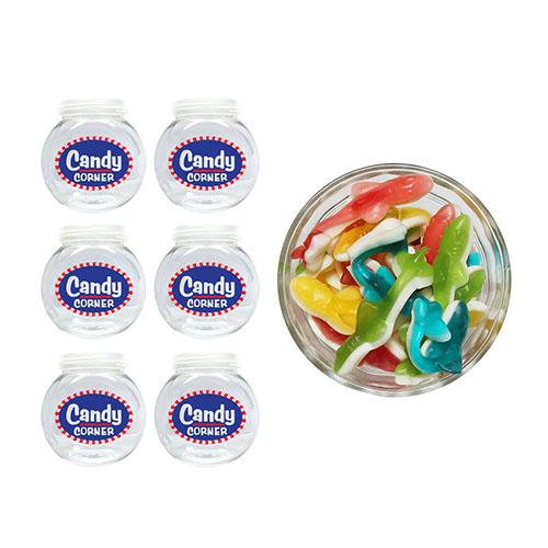 Party favors! Fini Clear Sharks 1kg + 6 Mini jars