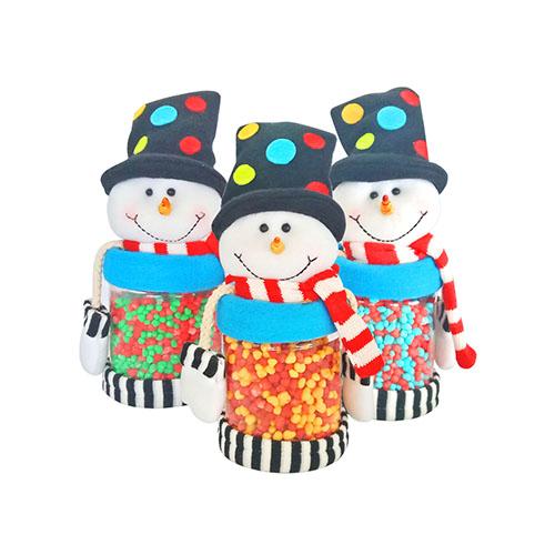 Nerds Candies in Large Snowman Jar 200g x 3pcs