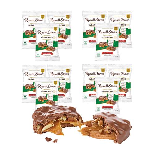Russell Stover Sugar Free Pecan Delight Peg Bag 85g x 12 pcs
