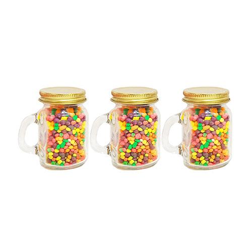 Party favors! Nerds Rainbow in mason jar 100g x 3pcs